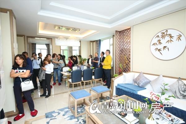 鑫江合院,景观示范区,开放,别墅,崂山,青岛新闻网