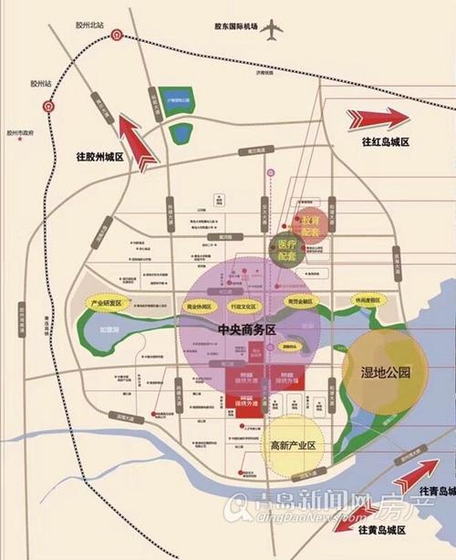 胶州 荣盛锦绣外滩  另外,荣盛锦绣外滩所处胶州市经济开发区核心,该