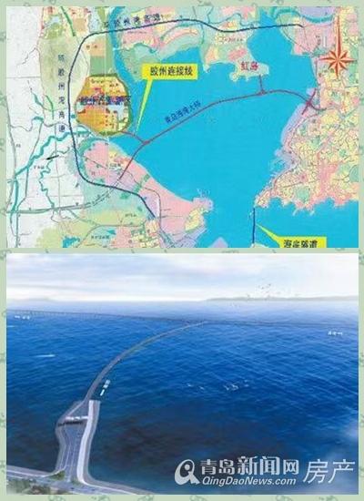 胶州湾跨海大桥,胶州连接线,青岛新闻网
