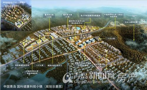 绿地,国科,绿地国科健康科技小镇,青岛新闻网