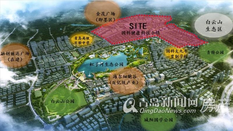 绿地国科健康科技小镇,城阳,青岛新闻网