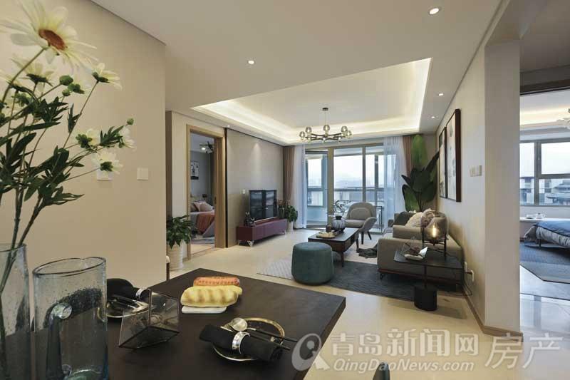 实景美图:海信珠山小镇装修洋房起价13700元/㎡