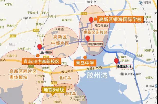 卓越嘉悦,中欧国际城,鲁昊棠琳湾,世茂公园美地,青岛新闻网