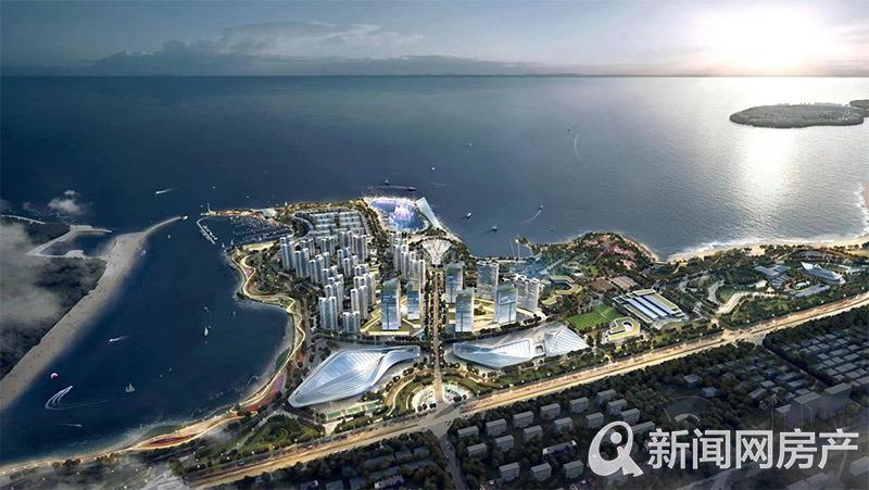 蓝湾运动中心,效果图,青岛新闻网