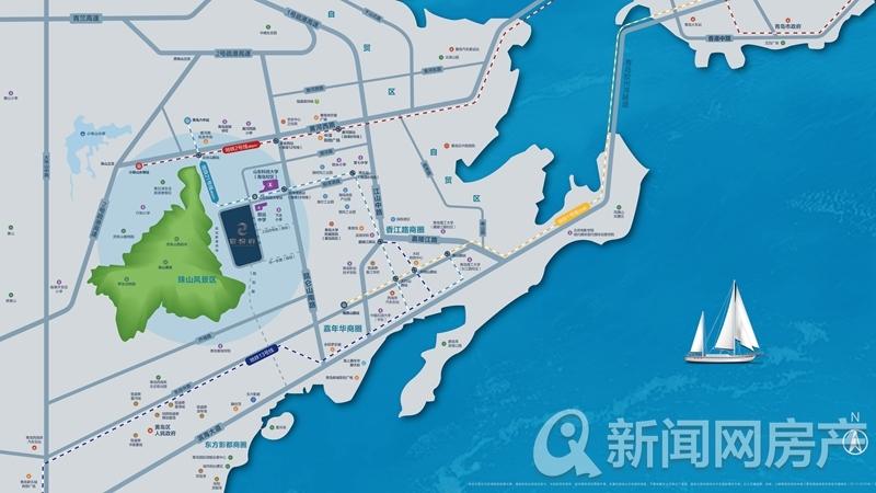 宸悦府,西海岸,区位图,新闻网
