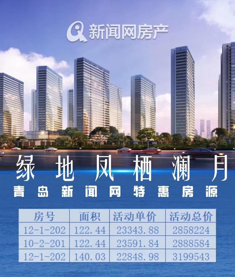 绿地凤栖澜玥,西海岸,特价房,青岛新闻网