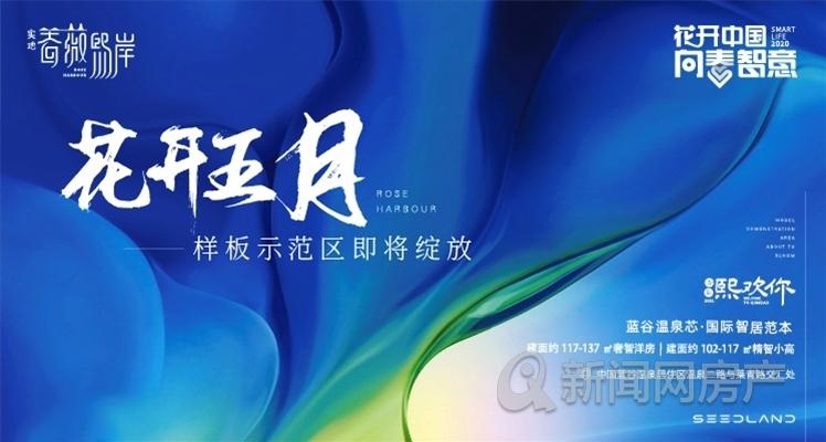 青岛,蓝谷,温泉,实地蔷薇熙岸,智慧社区,青岛新闻网