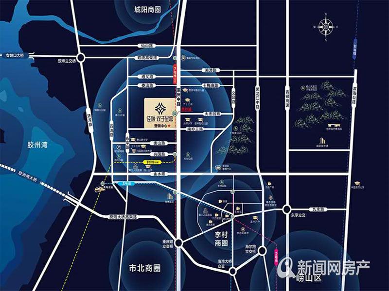 李沧,纯新盘,佳源双子星城,户型首发,亮点颇多,青岛新闻网