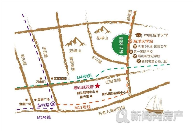 崂山,海尔产城创奥园翡翠云城,低密社区,青岛新闻网
