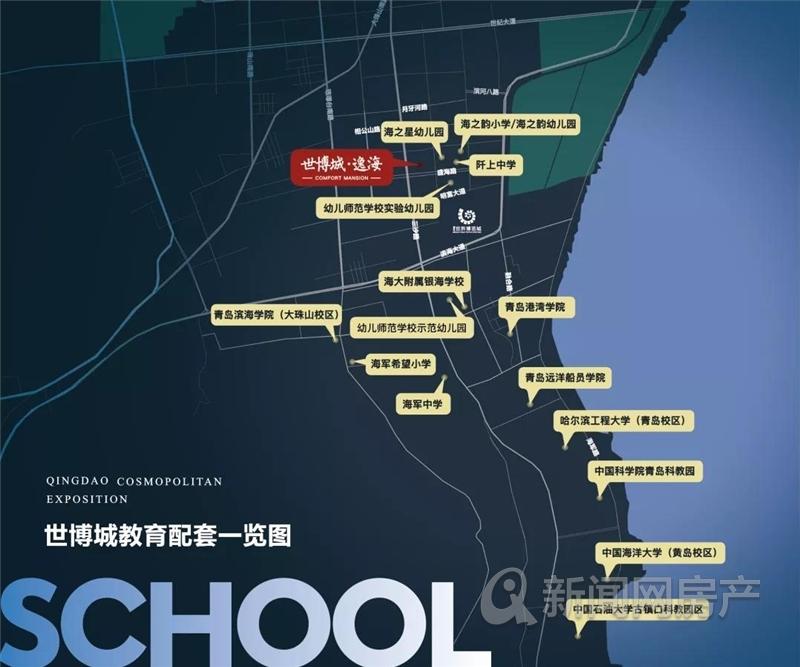 古镇口,中铁青岛世界博览城逸海,百亿大盘,青岛新闻网