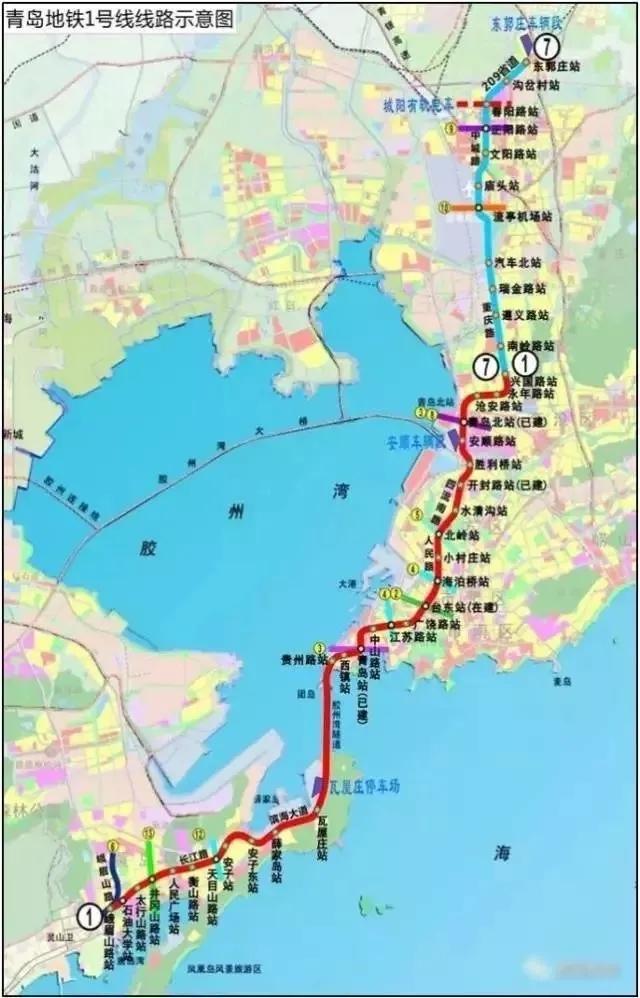 1号线,8号线,地铁,青岛新闻网
