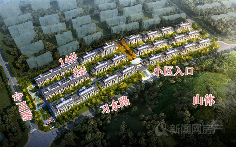 万竹云峰,东李,改善,别墅,大平层,李村河,青岛新闻网