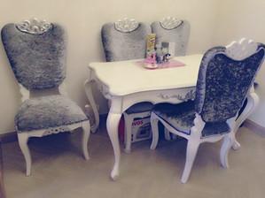 95成新欧式餐桌椅一套