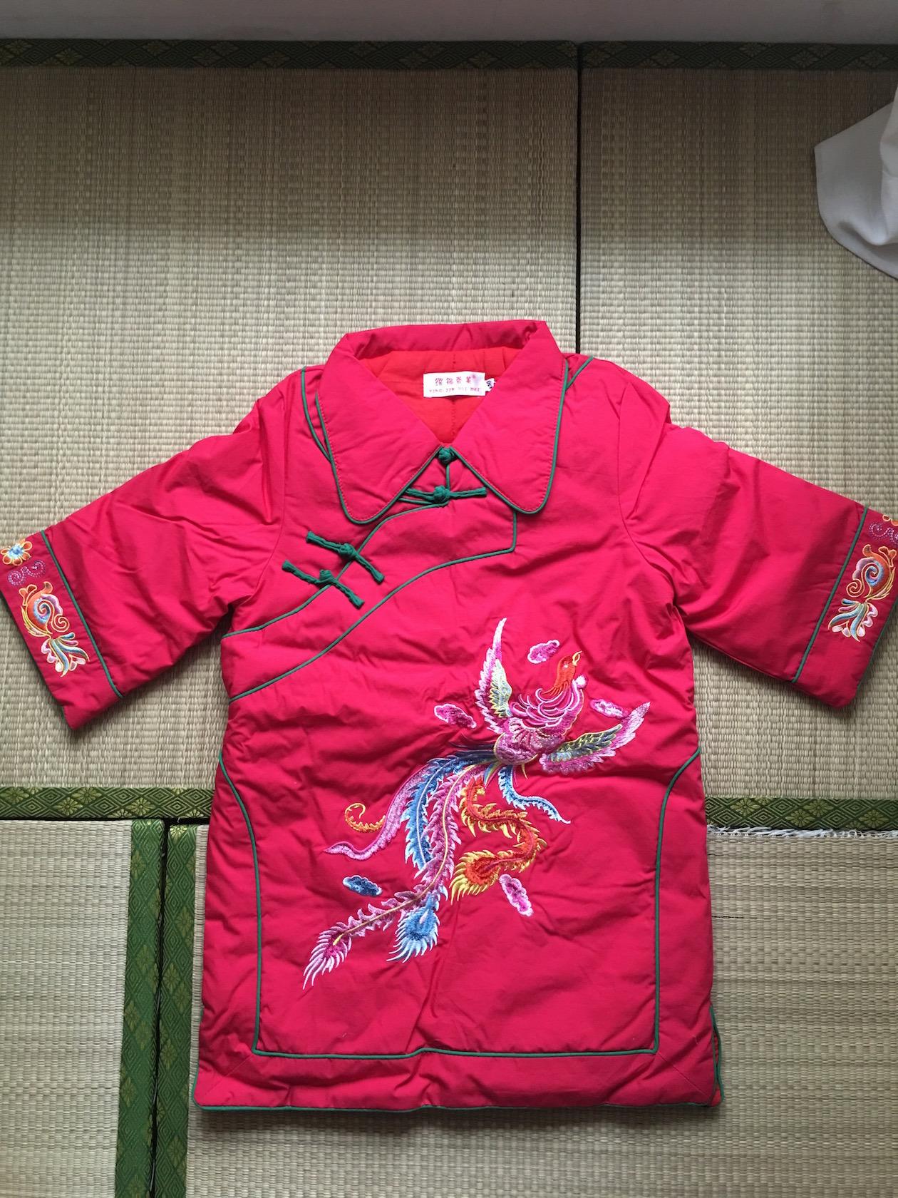 全新女童刺绣唐装格格七分袖棉袄 鱼的森林的换铺 新闻网换客
