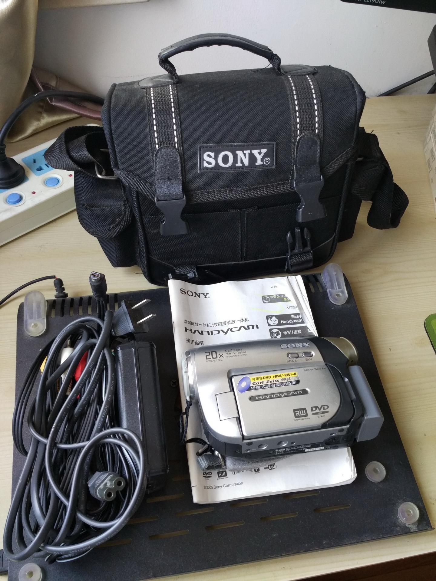 索尼摄像机DVD602E