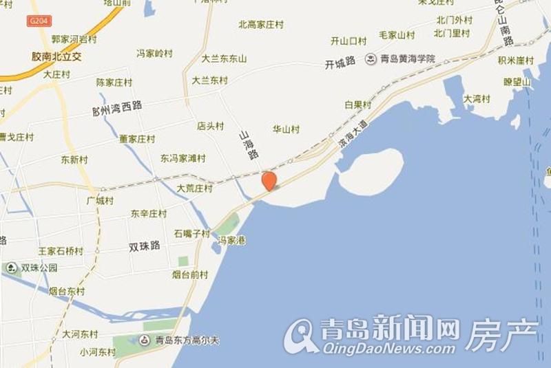 青岛黄岛地图_青岛国际游艇会展中心-楼盘详情-青岛新闻网